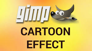 how to turn a photo into cartoon with gimp youtube
