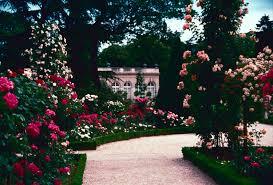 gardens europe france bagatelle rose garden paris city of