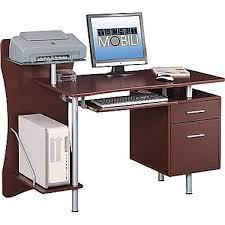 Desk For Desktop Computer by Techni Mobili Computer Desk Brown Rta 325 Staples