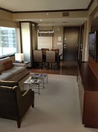 Executive Dining Room Executive Corner Suite Living Dining Room Picture Of Vdara Hotel