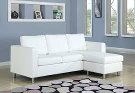 white leather sofa bed ikea charming small white leather sofa design gradfly co