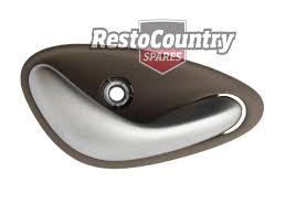 holden new inner shale satin door handle kit x4 vt vx vy vz wh wl