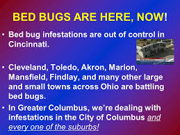 Bed Bugs In Ohio Bed Bug Information For Police And Fire Departments Ppt Video