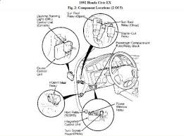 1992 honda civic fuel switch relay 1992 honda civic 4 cyl two