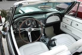 white corvette interior 1967 427 corvette sting digitaldtour