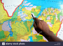 Map Of Brazil South America by South America Brazil Belem Man Cutting Fish At The Ver O Peso