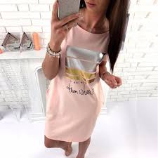 skirt women round neck short sleeve skirt 2017 summer girls casual