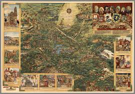 Map Mexico City by Valley Of Mexico Mexico City David Rumsey Historical Map Collection