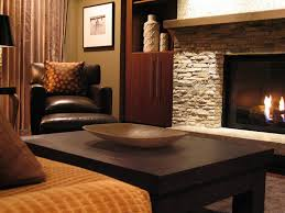 earth tone colors for living room ledgestone fireplace living room contemporary with fireplace mantel