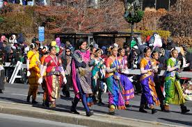 the indian part of the 20th annual ubs thanksgiving parade