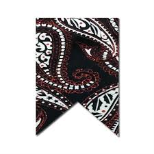 paisley ribbon x 10 yds black satin white paisley ribbon