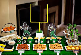 football centerpieces 20 diy football decorations for a tailgate tablescape thegoodstuff