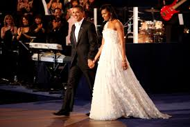 obama dresses inauguration gowns from jackie kennedy to obama time
