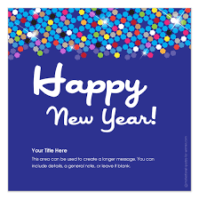 sparkling happy new year invitations cards on pingg
