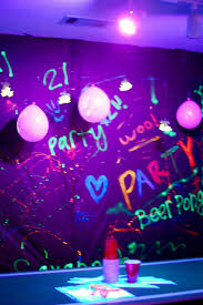black light party i spent 4 50 in neon poster board and 2 50 for