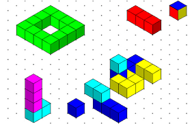 isometric drawing and 3d cubes passy u0027s world of mathematics