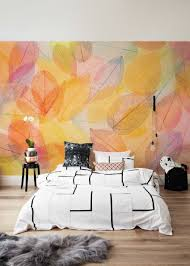 autumn themed wall murals collect this idea colorful leaves wall mural by pixers