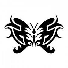 gemini tattoos u2013 fantastic tribal butterfly design tattooshunter com
