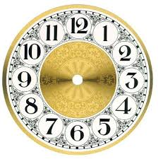 printable clock template without numbers antique clock faces black with gold numbers dials for clocks
