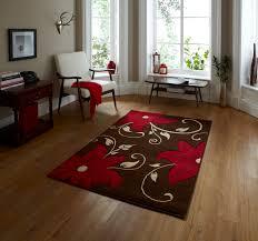 Verona Rugs Hand Carved Effect Floral Design Rug Verona Large Floor Mat