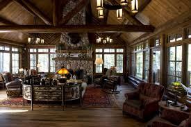 Log Home Kitchen Designs Log Home Spider Lake Hayward Ma Design Group