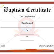 christening certificate template professional certificate of attendance template example with