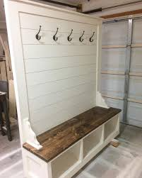 Entry Storage Bench Plans Free by Best 25 Hall Tree Bench Ideas On Pinterest Hall Tree Storage