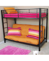 Metal Bunk Bed With Futon Christmas Savings On Pearson Twin Bunk Bed Over Futon