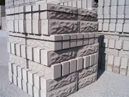rock faced blocks