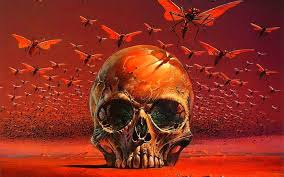colourful scary free artistic halloween art evil spooky