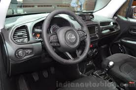 gray jeep renegade interior jeep renegade dawn of justice special edition interior at the