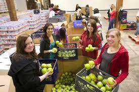 thanksgiving food bank volunteer volunteer second harvest food bank of orange county