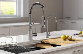 kitchen cabinet sink faucets the 8 best touchless kitchen faucets for 2021 according to