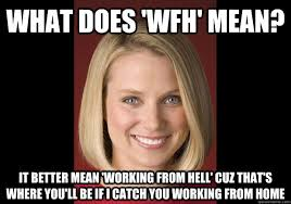 Working From Home Meme - what does wfh mean it better mean working from hell cuz that s