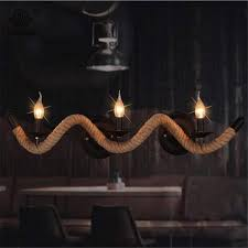 wall sconce candelabra 3 candle home interior vintage ebay vintage loft hemp rope wall l with three heads e14 candle bulb ac