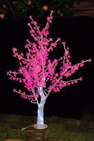 outdoor lighted cherry blossom tree 5ft pink led crystal cherry blossom tree light christmas wedding