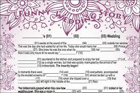 bridal mad libs wedding story featuring the groom
