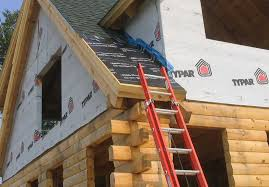 Flashing A Dormer Building A Log Home In Maine