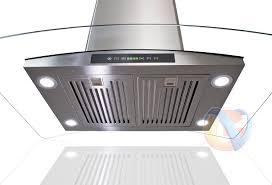 kitchen island range hoods and exhaust vents sears
