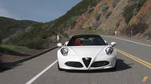 alfa romeo spider 2017 alfa romeo 4c spider test drive youtube