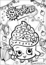 shopkins coloring pages coloring book