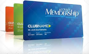 club membership card template membership card template 23 free