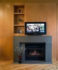 wood fireplace mantels burning stove brick surround ideas wood