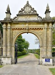 englefield house berkshire barely there beauty a renovation underway at pippa middleton s wedding venue daily mail