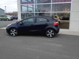 used 2015 kia rio sx in matane used inventory kia matane in