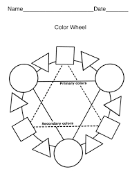 free color wheel blank coloring pages gianfreda net