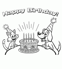 birthday coloring pages boy happy birthday coloring pages for boy boyfriend grandma clever page
