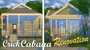 build a cabana the sims 4 build renovation crick cabana youtube