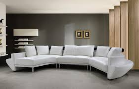 White Sectional Sofa For Sale by Living Room Minimalist Ideas Of Modern White Leather Sofas