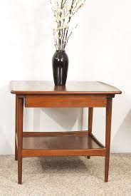 danish teak coffee table with magazine shelf 1960s for sale at